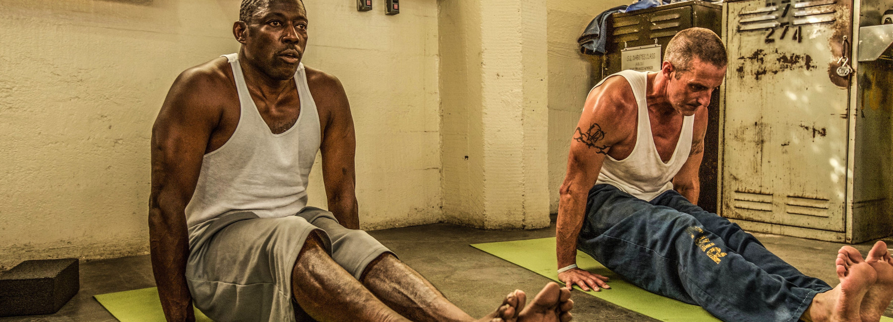 Trauma sensitive yoga with the Prison Yoga Project