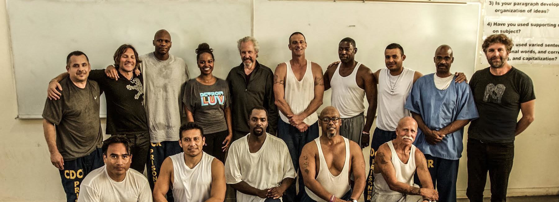 James Fox and the Prison Yoga Project